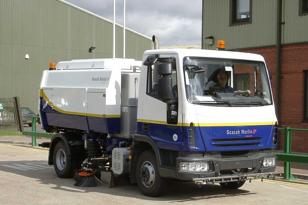 Scarab Merlin XP Road Sweeper