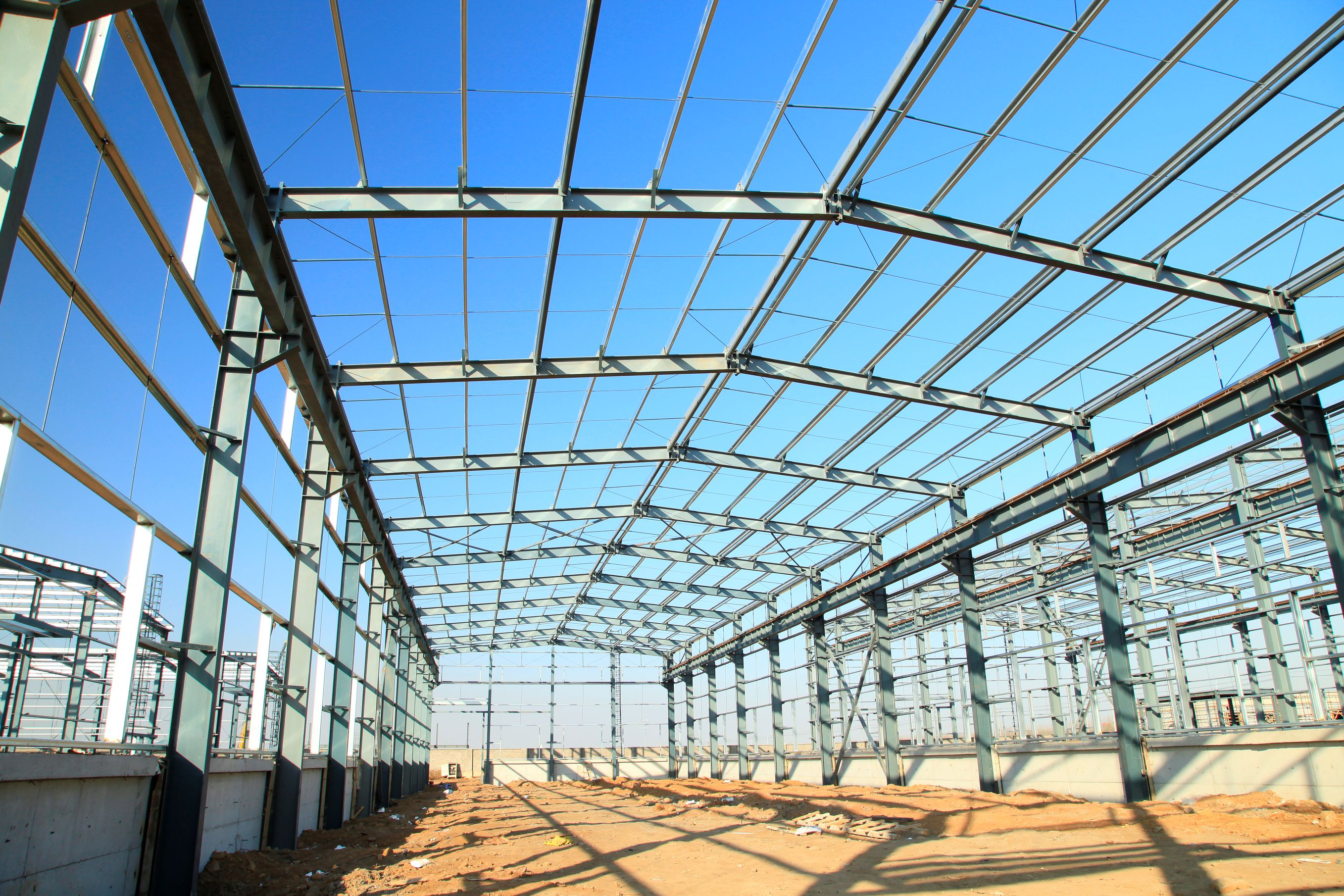 Steel Building Construction : New used steel buildings for sale iem uk
