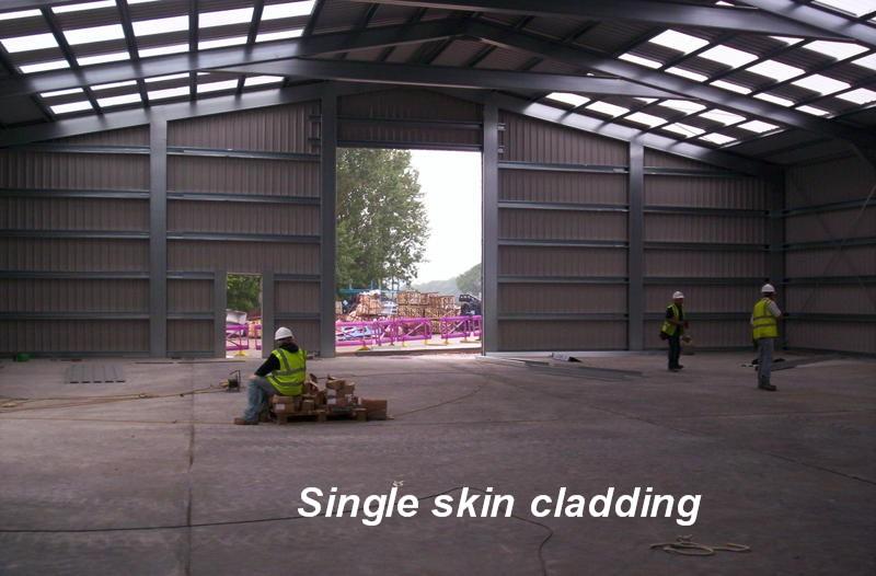 Single Skin Cladding