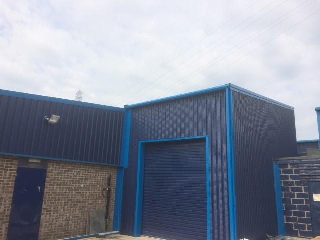 Compressor House – Steel Building