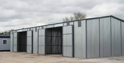 Sectional (Modular, Pre Clad) Steel Buildings