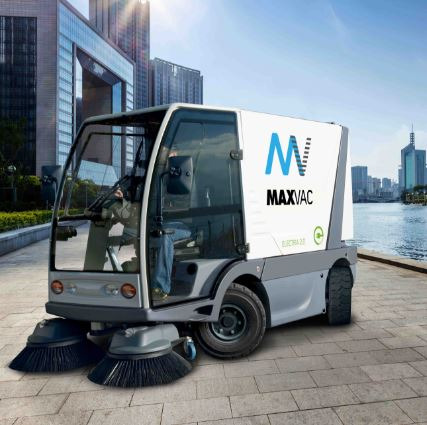 Maxvac Electra 2.0 Street Sweeper