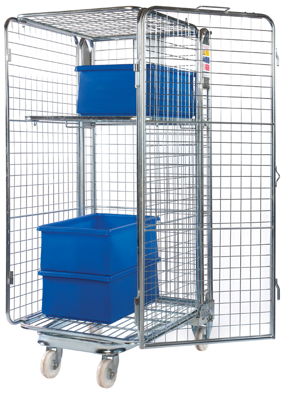 Roll Containers & Cage Trolley