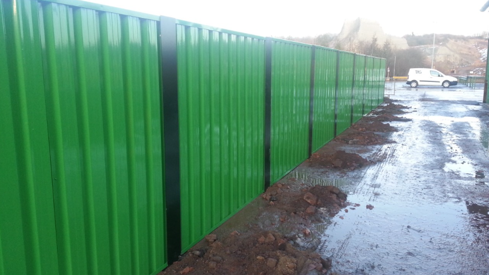 SteelWall Site Compound