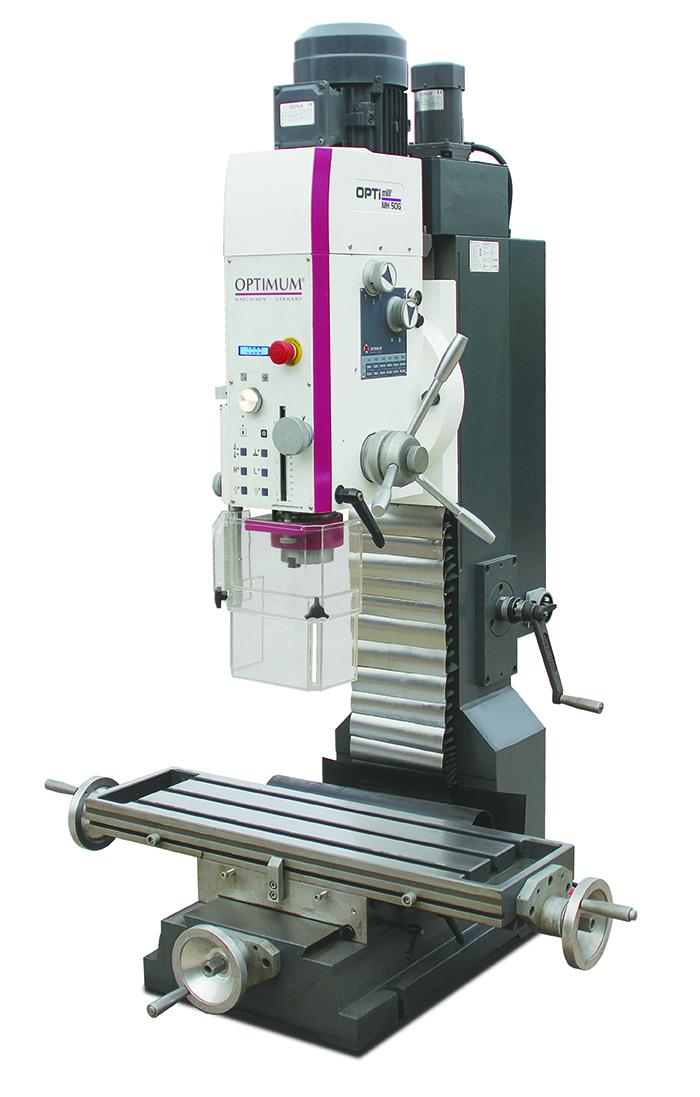 MH50G Drill/Mill Tilting Head Machine