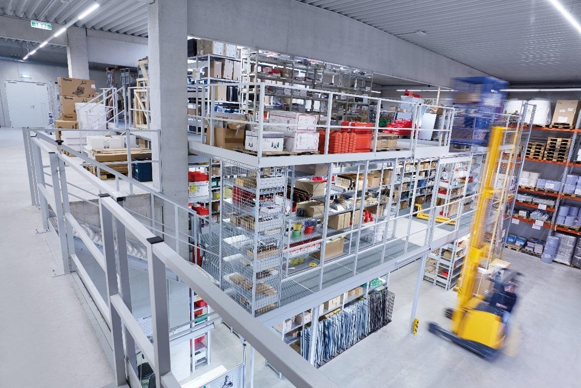 Storage Mezzanine Flooring