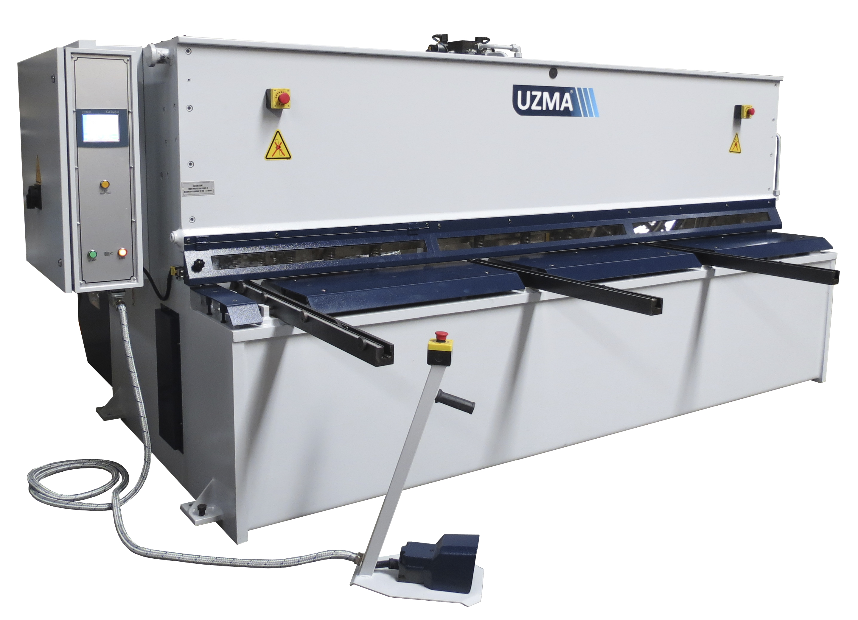 UZMA HSB Swing Beam Guillotine