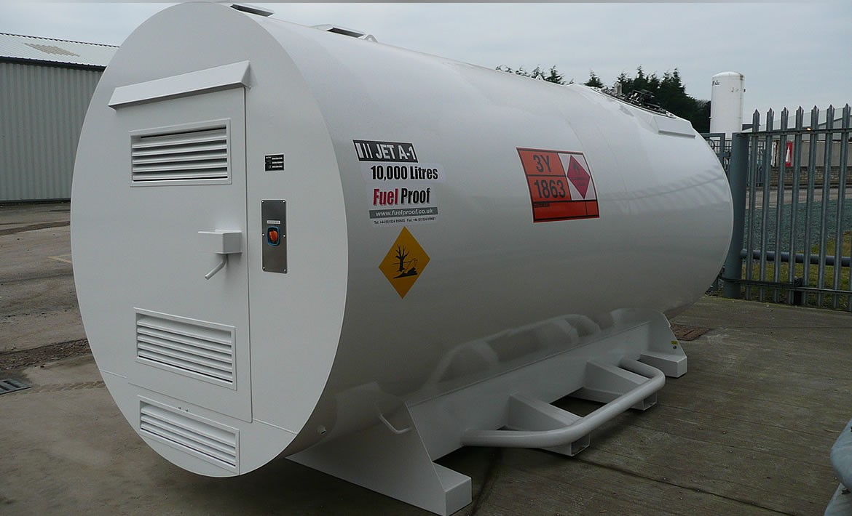 Bulk Aviation Fuel Tanks