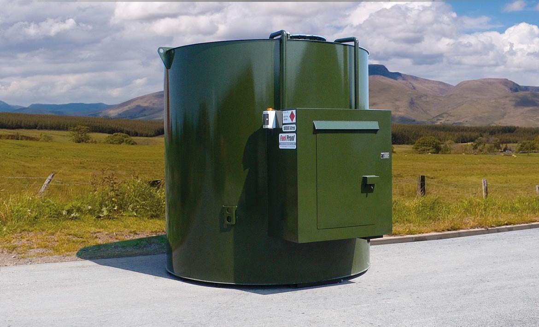Vertical Bulk Diesel Fuel Tanks