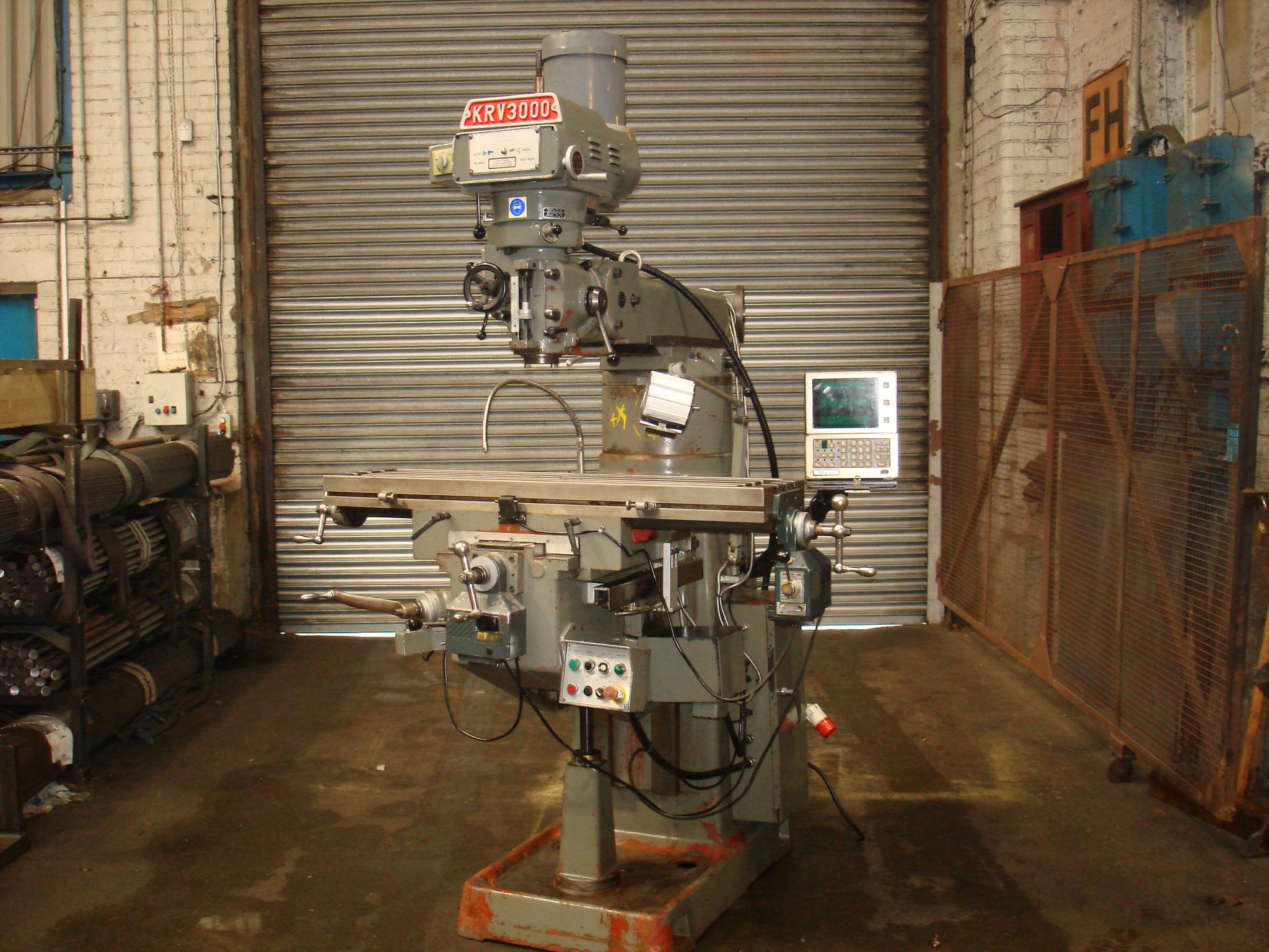 XYZ 3000 SLV Turret Mill