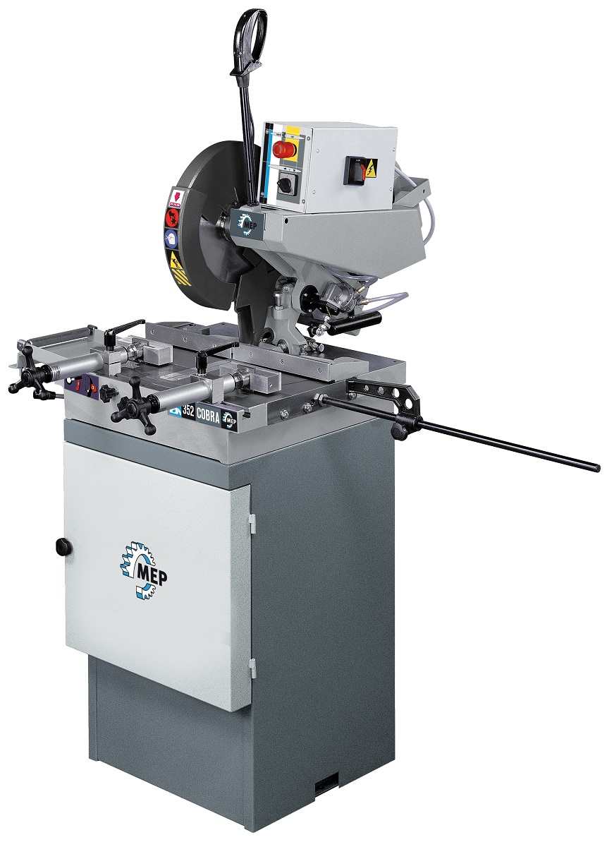 MEP COBRA 352 Manual Pulldown Circular Saw – Aluminium