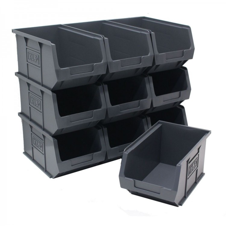 Eco Grey Parts Bins