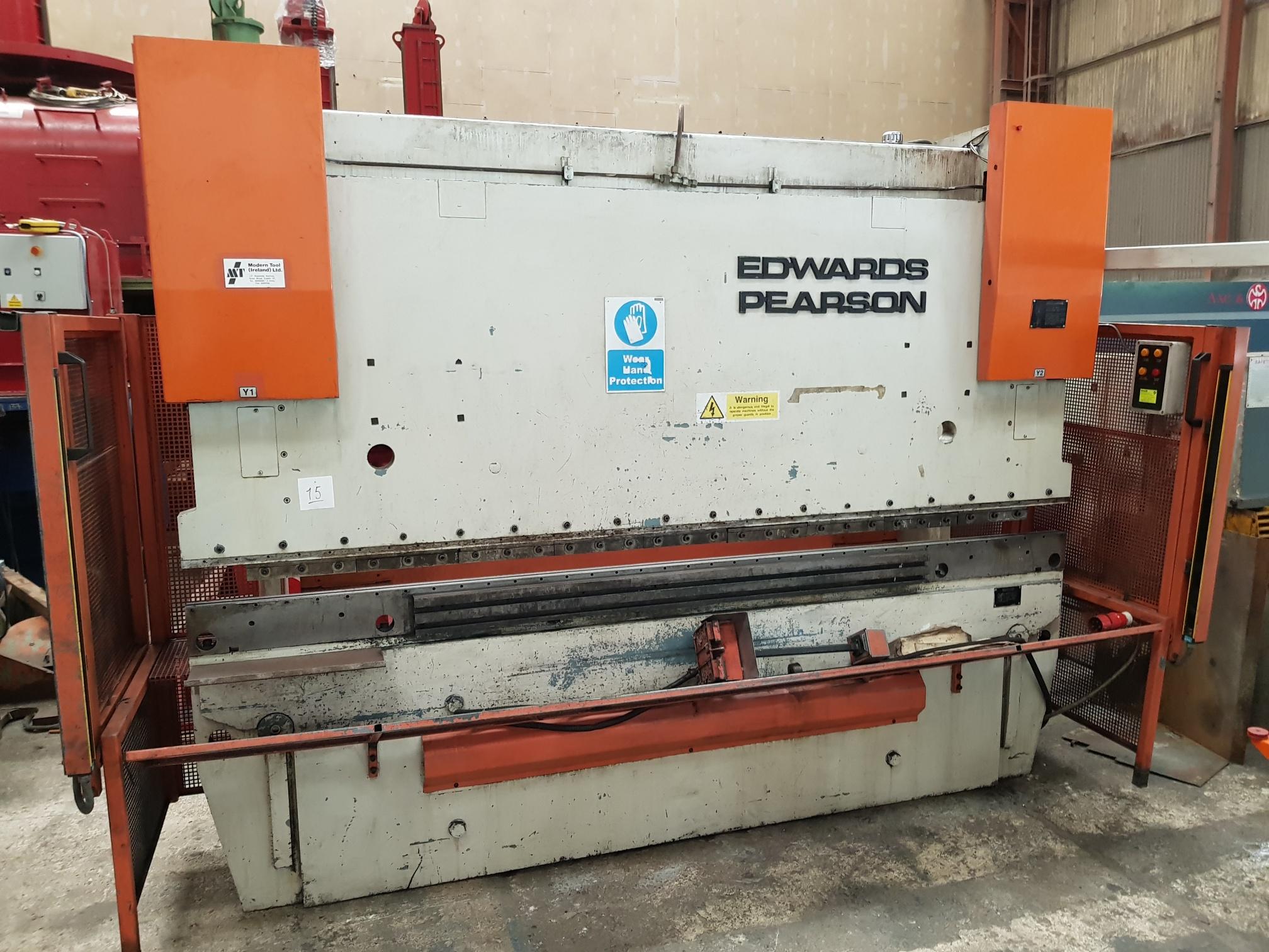 Edwards Pearson PR6 CNC Press Brake