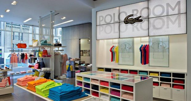 1b0004b746b Lacoste turns to digital signage for flagship New York store