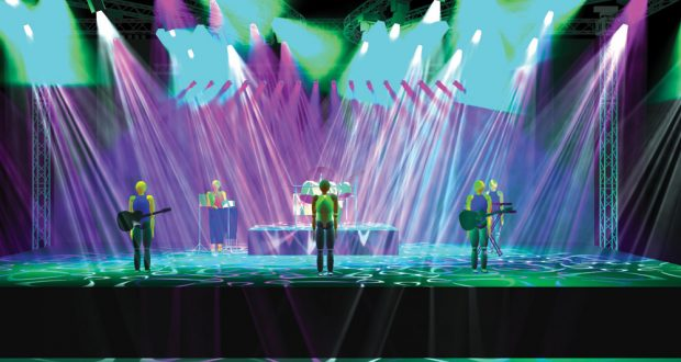 Av professionals are using 3d stage simulation technology to create and pre visualise realistic stage set video and lighting designs