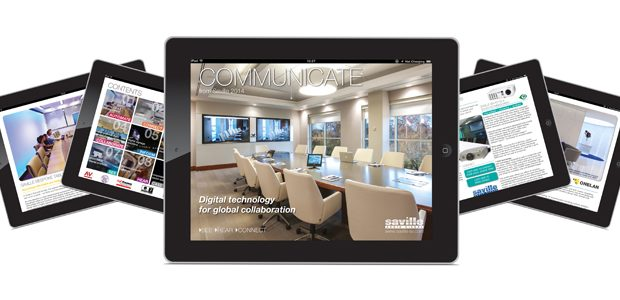 Saville launches Communicate 2014 brochure app