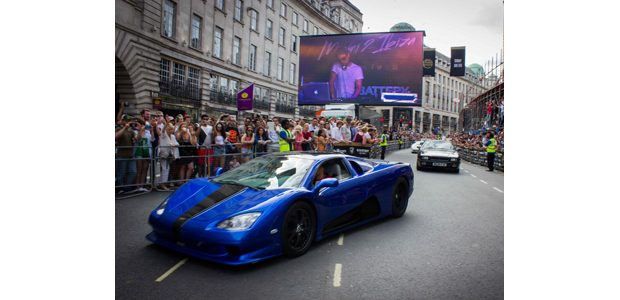 Gumball 3000 features supercars, superstars and ADI's super