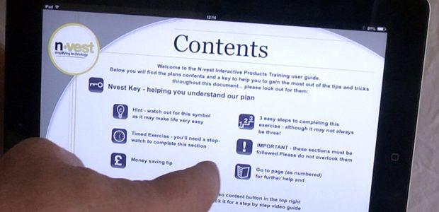 Fingertip interactive education