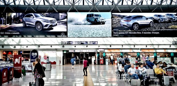 Clear Channel and Absen unite to make Rome Fiumicino a ...