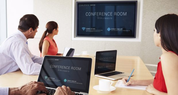 Black Box's wireless collaboration offering for the meeting room