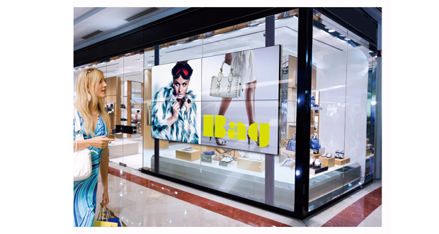 Video Wall Installation - Shop Window copy