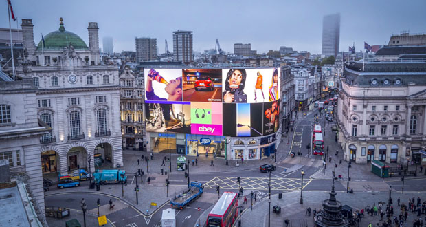 Piccadilly Lights' screen spectacular