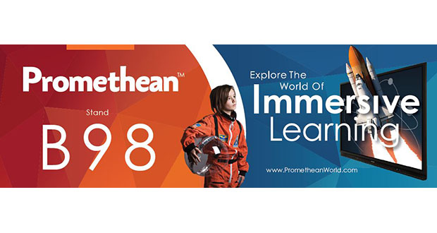 Promethean creates a world of immersive learning at Bett