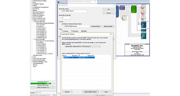 Symetrix Composer 6 0 adds multiple Dante enhancements