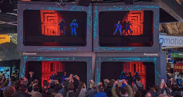 Panasonic holographic showstopper is a crowd pleaser