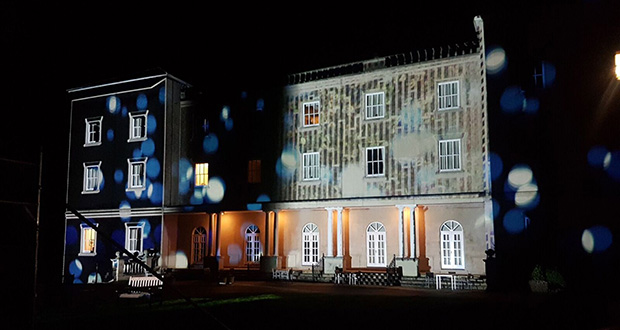 Projection Mapping Uk Mansion projection mapping masterclass takes Shape