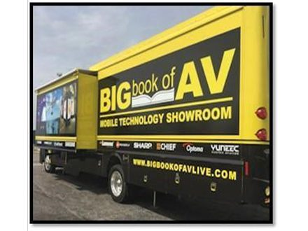 Stampede's Mobile Technology Showroom bus comes to InfoComm