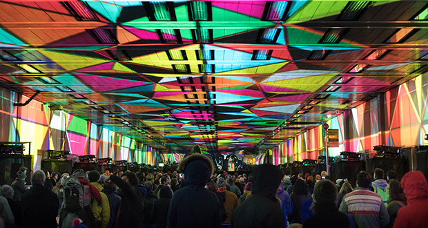 TiMax takes lead audio role in tunnel-based art show