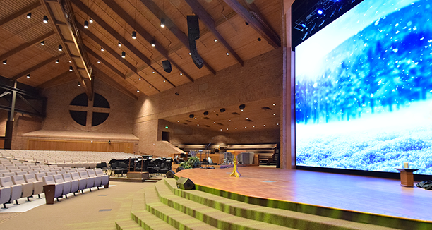 Us Church Solves Video Wall Challenges With Analog Way
