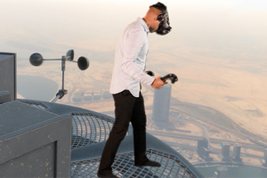 VR soars to new heights
