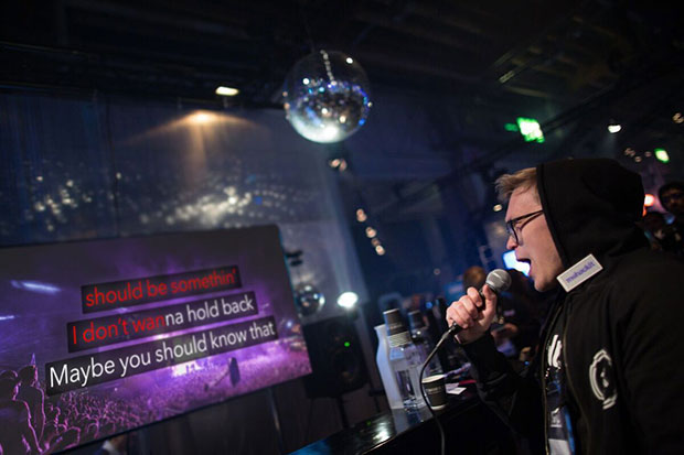 Shure partners with 'Spotify for karaoke' start-up