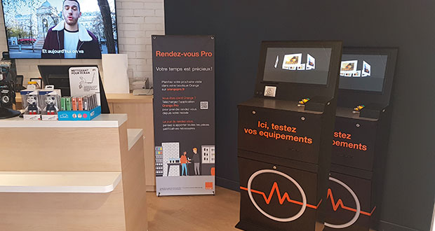 Orange France rolls out Ricoh kiosks in 480 stores