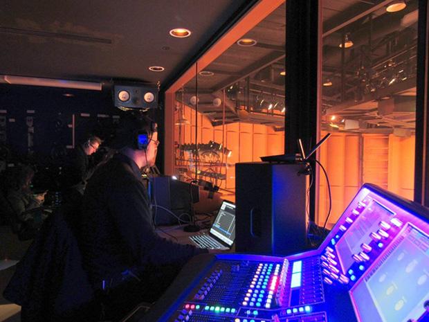 College auditorium upgraded to 5 1 surround sound