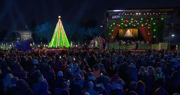 National Christmas Tree 2019.Digico Sd10 Handles National Christmas Tree Lighting Show