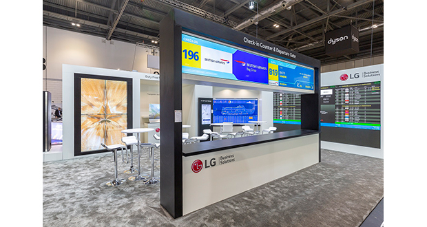 LG showcases latest LED and airport-specific solutions