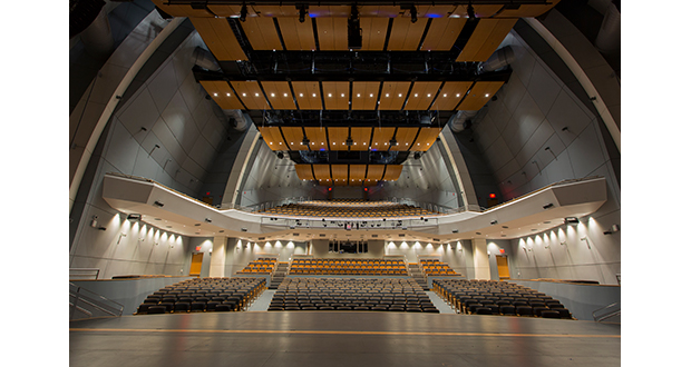 Performing arts school selects flexible Meyer Sound system