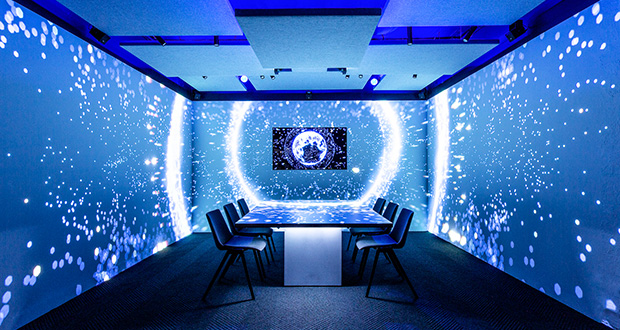 Projection Artworks adds hybrid spatial audio to HQ