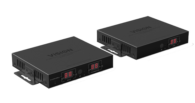 Vision publishes Crestron and AMX drivers