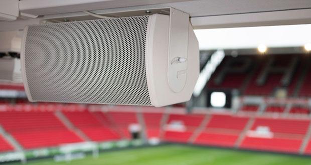 Bose loudspeakers in debut at top soccer stadium