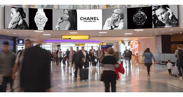 JFK adds curved LED to international arrivals
