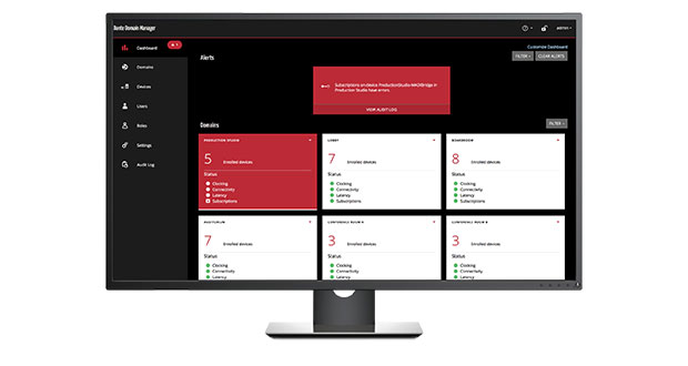 Audinate releases updated Dante Domain Manager