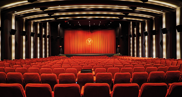 The DGA Theatre in Los Angeles upgraded to Dolby Atmos with Meyer Sound cinema loudspeakers